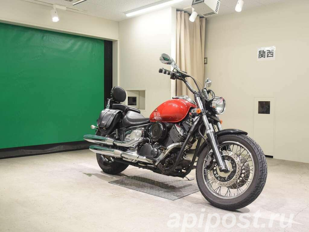 Мотоцикл круизер Yamaha Dragstar 1100 рама VP13J мотосумки ... - МОСКВА