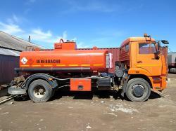 Бензовоз Камаз 43253, 2012 г, 8.5 м3.