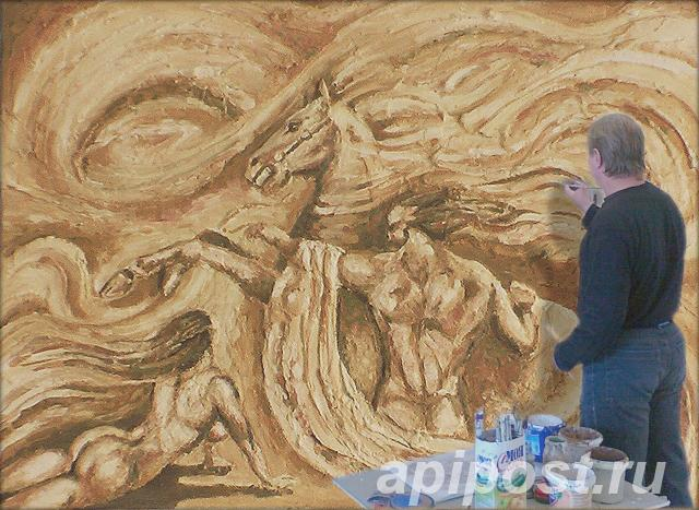 Роспись стен художественная - ОМСК