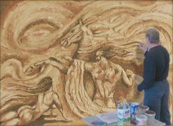 Роспись стен художественная