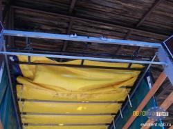 Ремонт и установка сдвижных крыш, каркасы, тенты